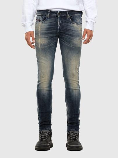 Diesel - Sleenker 069NI, Dark Blue - Jeans - Image 1