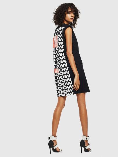Diesel - D-HATTER, Black/White - Dresses - Image 2