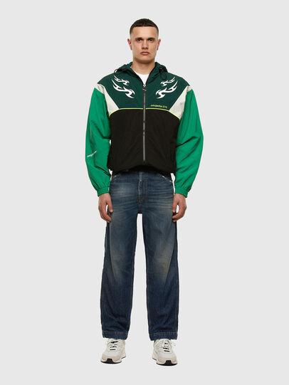 Diesel - J-ETHAN, Green/Black - Jackets - Image 7