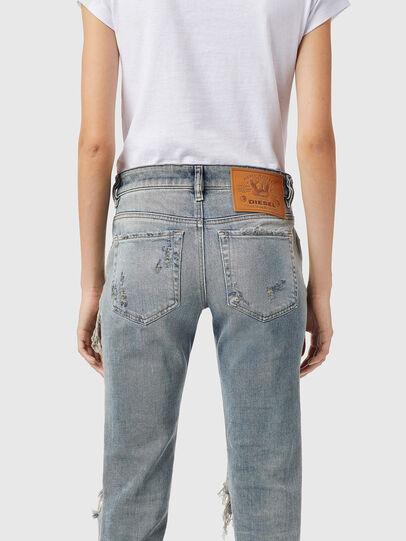 Diesel - D-Lyla 09B40, Light Blue - Jeans - Image 4