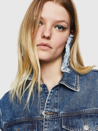 Diesel - DE-ABBY,  - Denim Jackets - Image 4