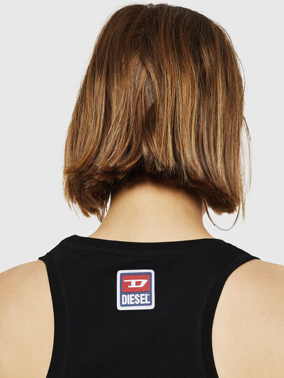 Diesel - T-SILK-A, Black - Tops - Image 3