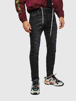 Krooley JoggJeans 069GP, Black/Dark grey - Jeans
