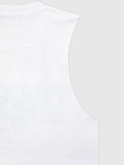 Diesel - BFOWT-MUSCLE-ROUNDIE, White - Tops - Image 4