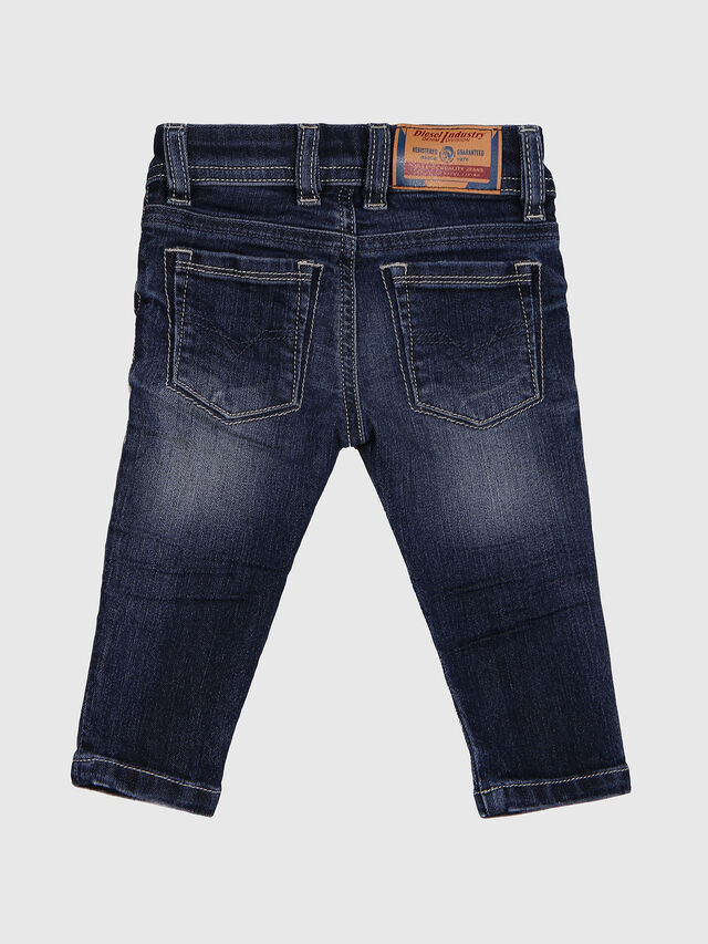 Diesel - SLEENKER-B-N, Blue Jeans - Jeans - Image 3