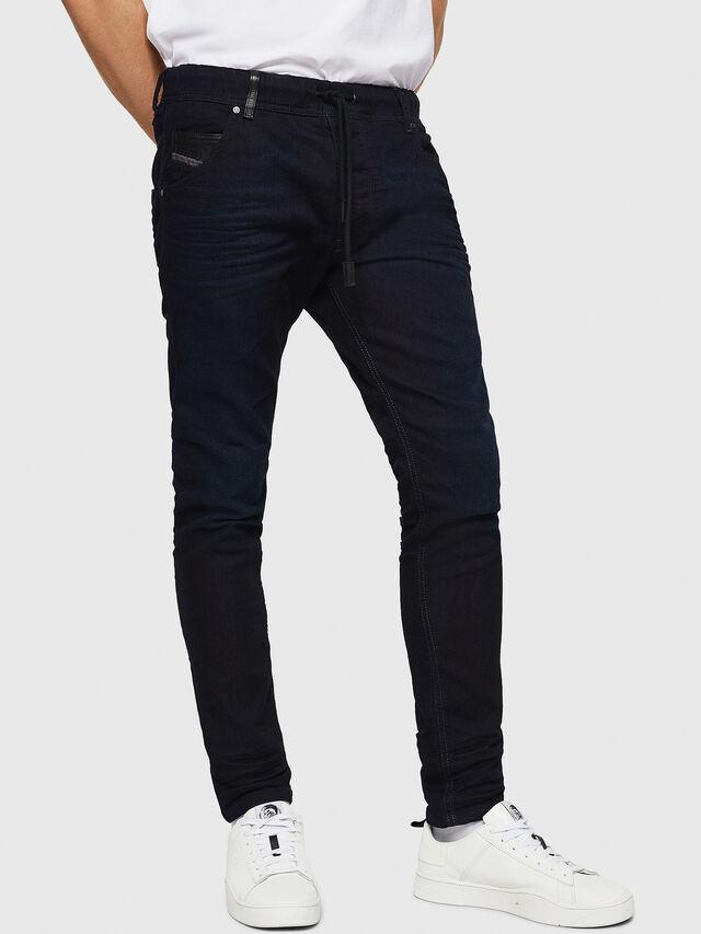 Diesel Krooley JoggJeans 0829P, Dark Blue - Jeans - Image 1