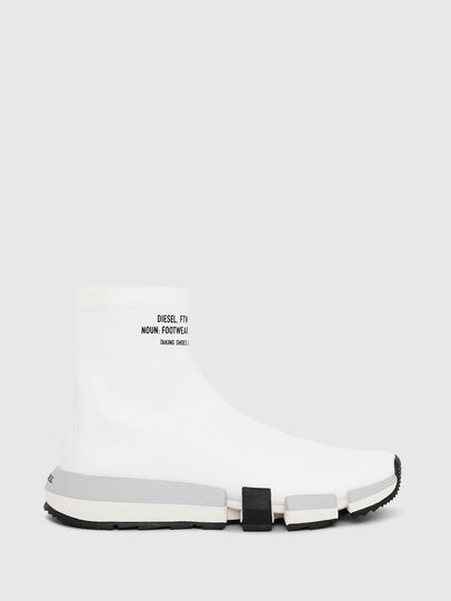 Diesel - H-PADOLA HIGH SOCK W, White - Sneakers - Image 1