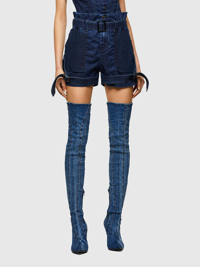 Diesel - D-FEDRA-SP JOGGJEANS, Dark Blue - Jeans - Image 1