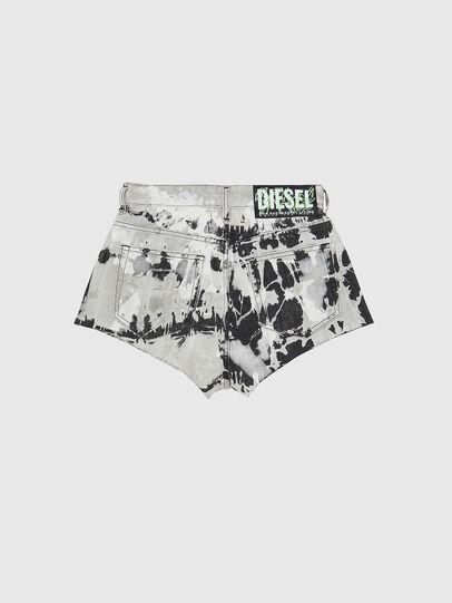 Diesel - DE-HIGWEI, Black/White - Shorts - Image 2