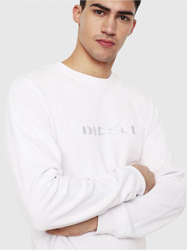Diesel - UMLT-WILLY, White - Sweaters - Image 3