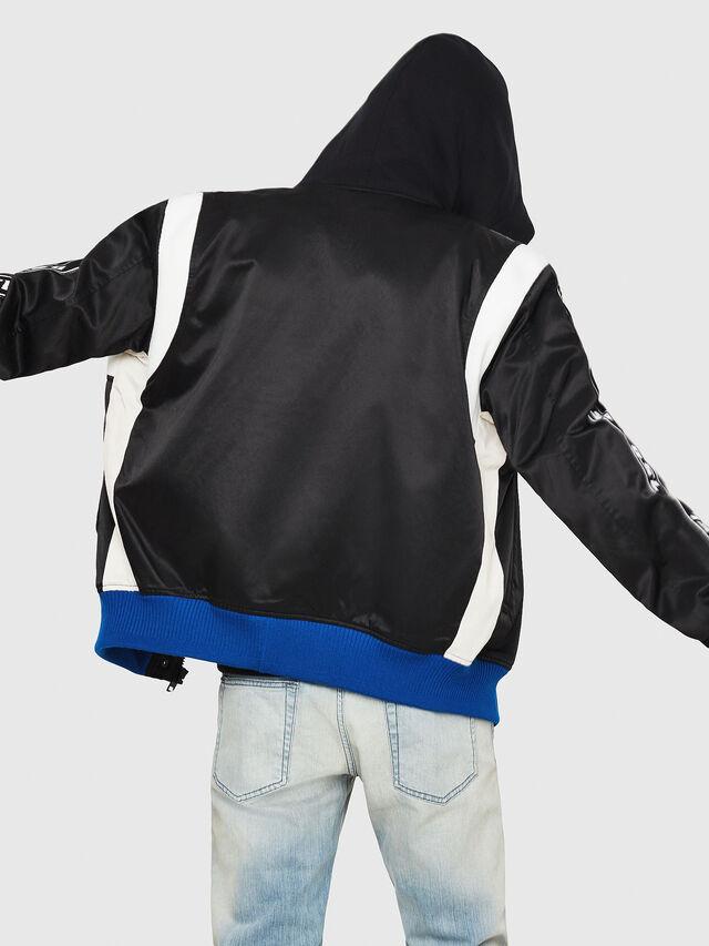 Diesel - J-HID, Black - Jackets - Image 2