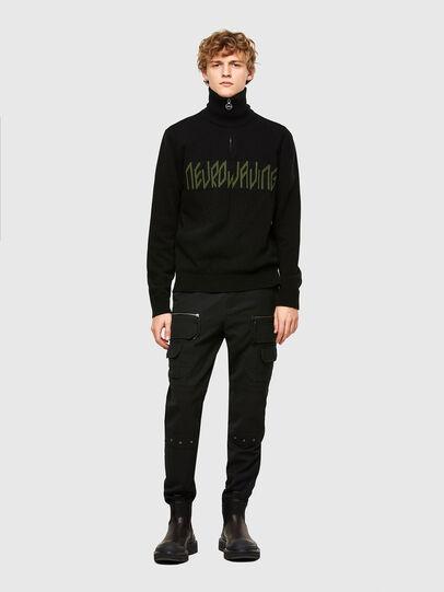 Diesel - K-GABY, Black - Knitwear - Image 5