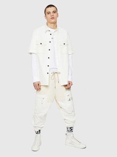 Diesel - P-LUKK, White - Pants - Image 6