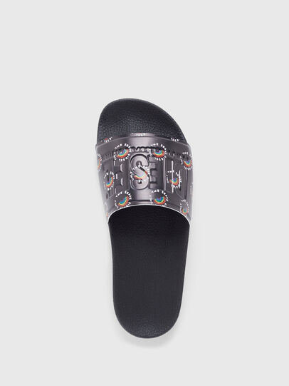 Diesel - SA-VALLA W, Black - Slippers - Image 5
