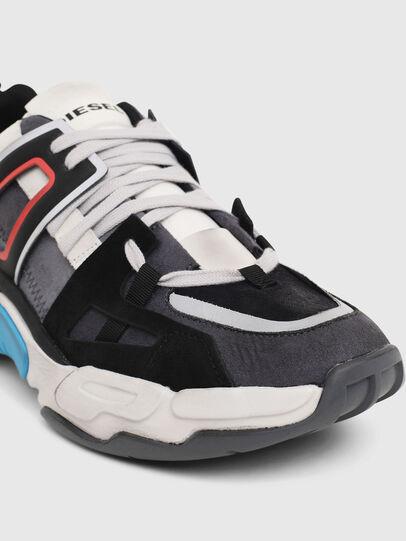 Diesel - S-KIPPER LOW TREK II, Grey/White - Sneakers - Image 5