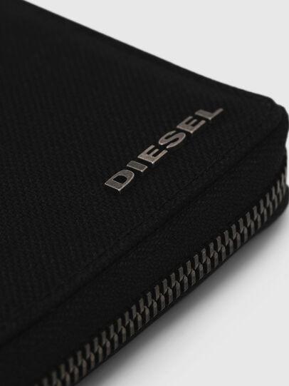 Diesel - ZIPPY HIRESH S, Dark Blue - Zip-Round Wallets - Image 4