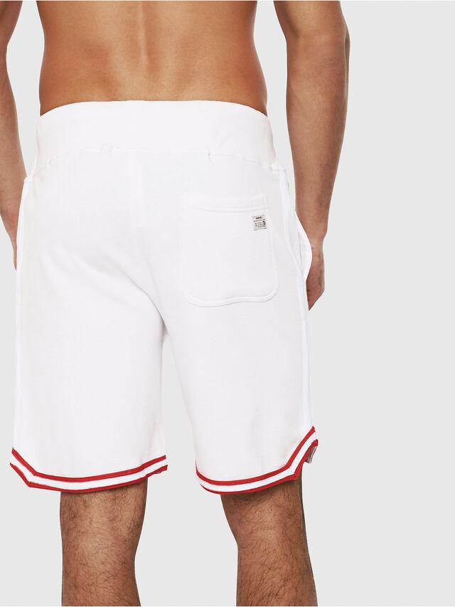 Diesel - UMLB-PAN, White/Red - Pants - Image 2