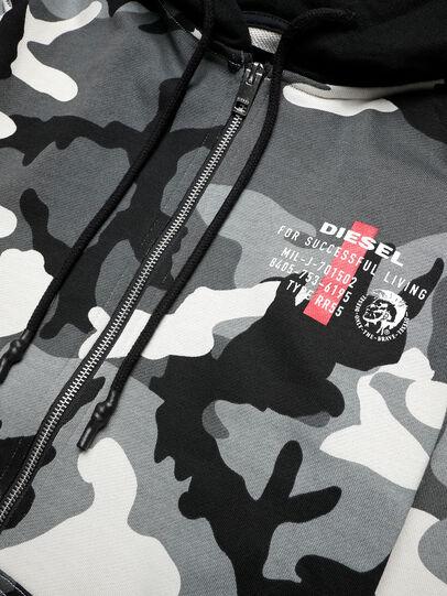 Diesel - UMLT-BRANDON-Z, Grey/Black - Sweaters - Image 3