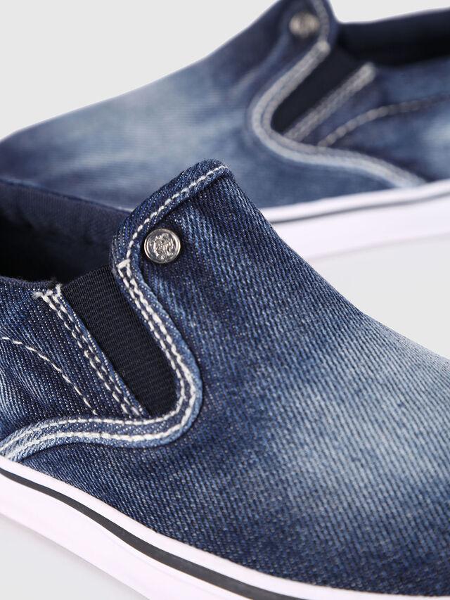 KIDS SLIP ON 21 DENIM YO, Blue Jeans - Footwear - Image 4