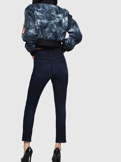 Diesel - Babhila High 083AG, Dark Blue - Jeans - Image 2