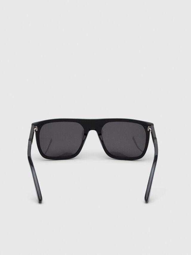 Diesel - DL0299-F, Black/Grey - Sunglasses - Image 4