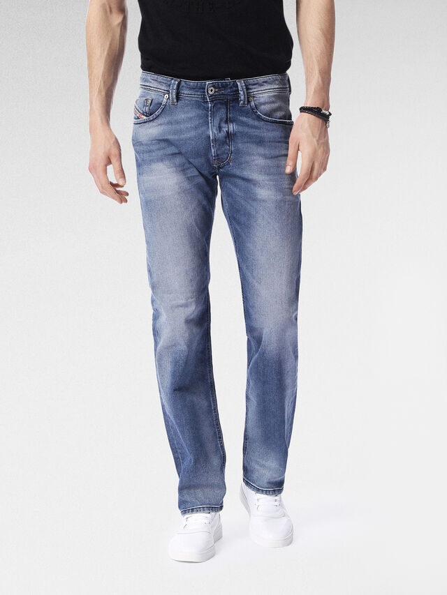 Diesel - Larkee 0853P, Medium blue - Jeans - Image 1