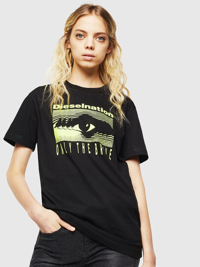 Diesel - T-DIEGO-J4, Black - T-Shirts - Image 2