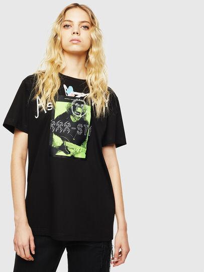 Diesel - T-DARIA-Y, Black - T-Shirts - Image 1