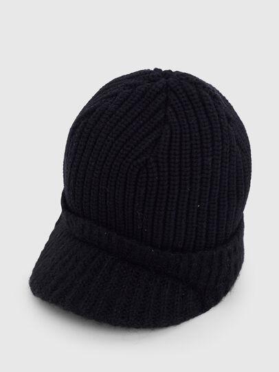Diesel - K-AGO, Black - Knit caps - Image 3
