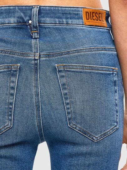 Diesel - Slandy High 009AG, Medium blue - Jeans - Image 4
