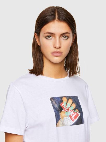 Diesel - T-DARIA-R3, White - T-Shirts - Image 3