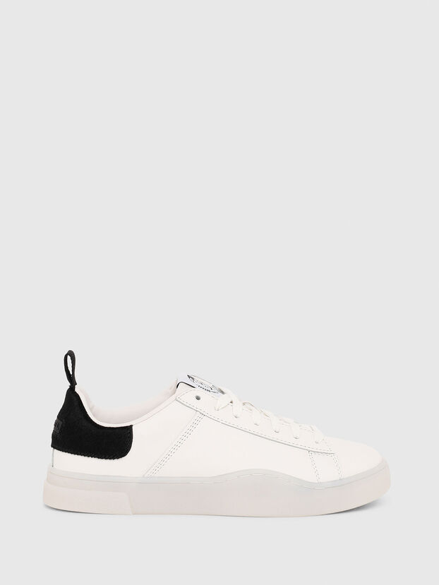 S-CLEVER LOW LACE W, White/Black - Sneakers