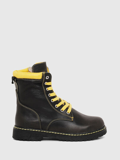 Diesel - HB LACE UP 04 CH, Black - Footwear - Image 1