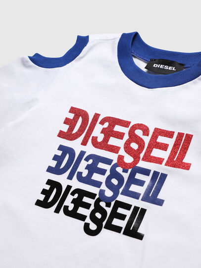 Diesel - TANIURAB, White - T-shirts and Tops - Image 3