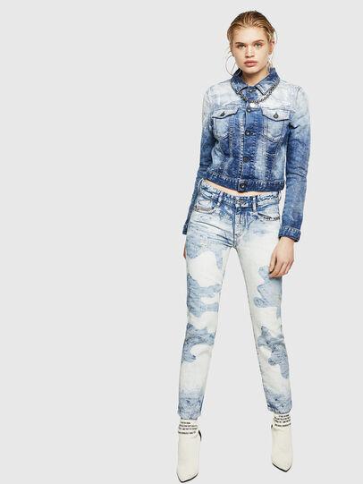 Diesel - D-Rifty 0890P, Light Blue - Jeans - Image 6