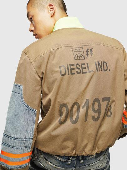 Diesel - J-STORCH, Beige - Jackets - Image 5