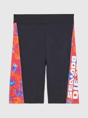 BFPN-CYCLERDOO, Black/Orange - Swim shorts