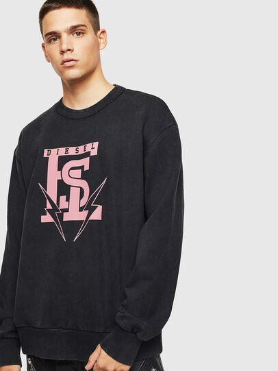 Diesel - S-BAY-B5, Black - Sweaters - Image 1