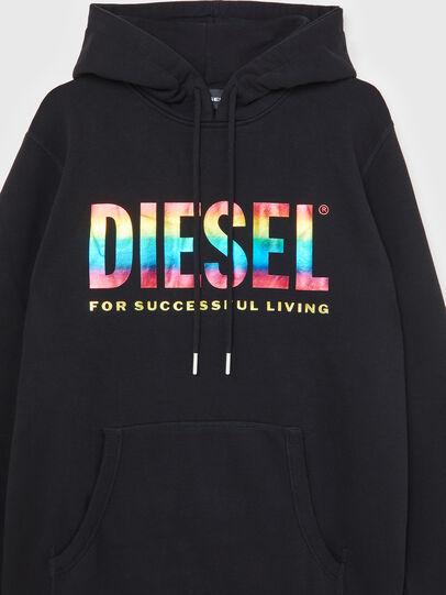 Diesel - S-GIR-HOOD-P, Black - Sweaters - Image 3