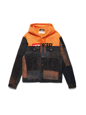 D-BNHILL55, Orange - Denim Jackets