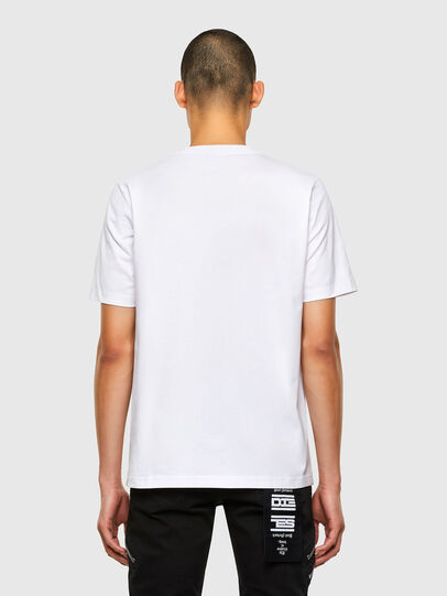 Diesel - T-JUST-N45, White - T-Shirts - Image 2