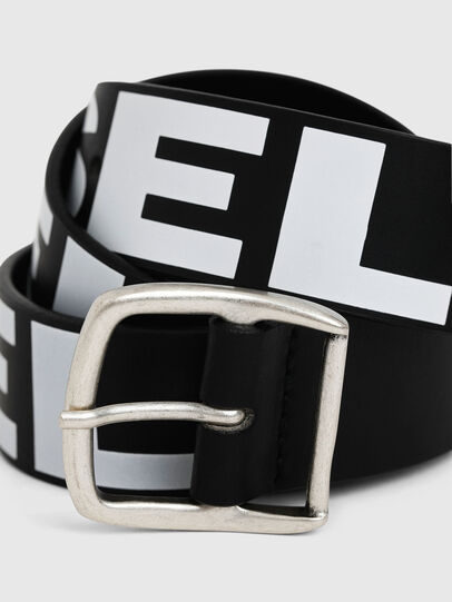 Diesel - BARBAR, Black/White - Belts - Image 2