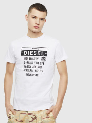 T-DIEGO-S1, White - T-Shirts