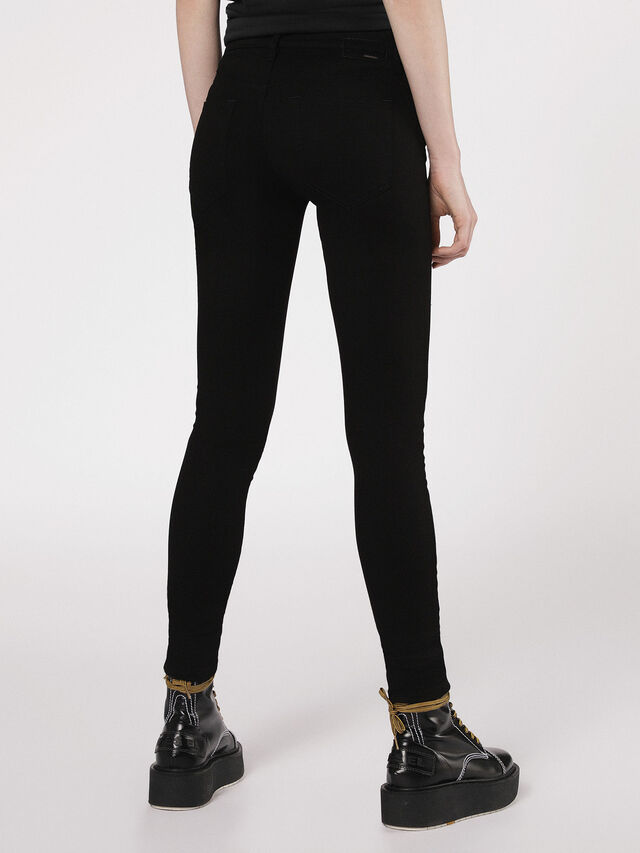 Diesel - Slandy 0860S, Black/Dark grey - Jeans - Image 2