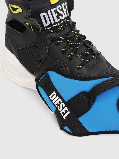 Diesel - S-SHARQUEZ MID, Black - Sneakers - Image 4