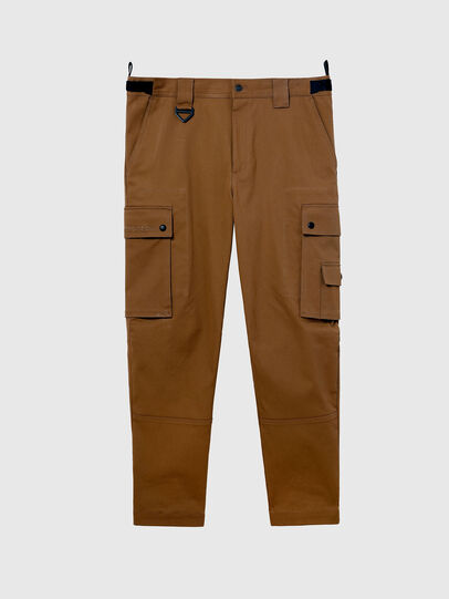 Diesel - P-FREDDY, Light Brown - Pants - Image 1