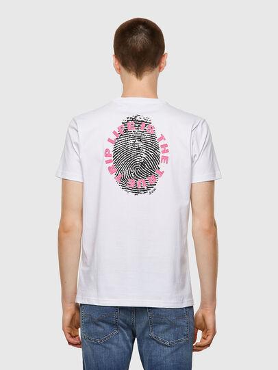 Diesel - T-DIEGOS-B7, White - T-Shirts - Image 2