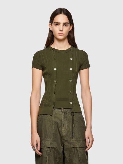 Diesel - M-FLORIDA, Olive Green - Knitwear - Image 1