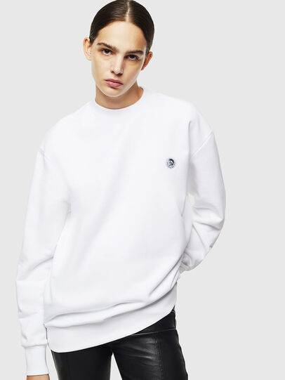 Diesel - S-LINK, White - Sweaters - Image 2