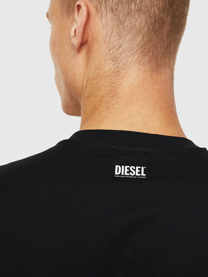 Diesel - T-JUST-J13, Black - T-Shirts - Image 3
